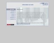 Bild Webseite IBB Internationale Betriebsberatungsgesellschaft m.b.H. München