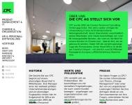 Website CPC Unternehmensmanagement