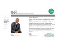 Website PM Gesellschaft für Personalberatung & Managemententwicklung