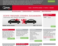 Bild Webseite Q-Park Düsseldorf