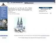 Bild Webseite Kurth & Partner Unternehmensberatung Köln