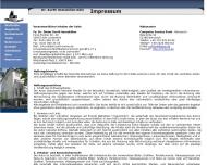 Website Kurth & Partner Unternehmensberatung