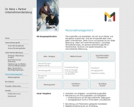 Website Dr. Menz + Partner Unternehmensberatung
