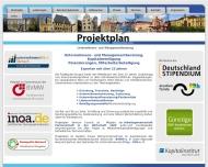 Website Projektplan Venture Consult