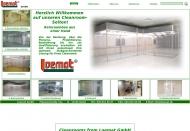 Bild Webseite LOEMAT Industrievertretungen Handel Vertrieb Service Berlin