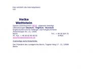 Bild Heike Wettstein