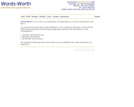 Bild Words-Worth - Carol Gehrke-Stocks u. Robin Stocks GbR