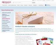 Website Rossmann Drogeriemärkte