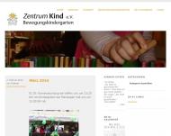 Bild Webseite Kindertagesstätte Zentrum Kind Düsseldorf