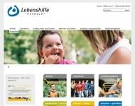 Bild Webseite Frühförderstelle Kinderhilfe Lebenshilfe Ansbach Feuchtwangen