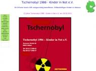 Bild Verein Tschernobyl 1986 Kinder in Not e.V.