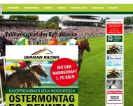 Bild Webseite Kölner Renn-Verein eV Köln