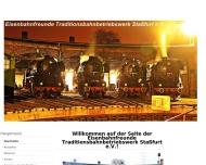 Bild Eisenbahnfreunde Traditionsbahnbetriebswerk Staßfurt e.V.