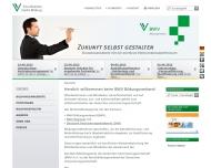 Bild Webseite Berufsbildungswerk der Deutschen Versicherung Köln