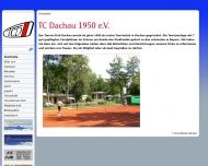 Bild Webseite Tennis-Club Dachau 1950 Dachau