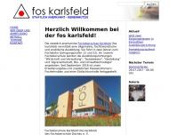 Bild Webseite Fachoberschule Dachau Karlsfeld