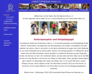 Website Christopherus-Haus