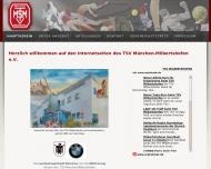 Bild Webseite TSV Milbertshofen München