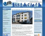 Bild Verein zur Förderung der Integration Behinderter-fib e.V.