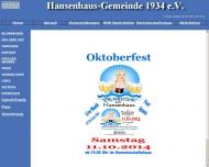 Bild Hansenhaus-Gemeinde 1934