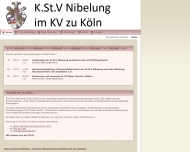 Bild Webseite Nibelung Hausbauverein Köln