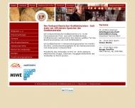Bild Webseite Verband Deutscher Großbäckereien Düsseldorf