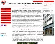Bild Webseite Christlicher Verein Junger Menschen Düsseldorf Düsseldorf