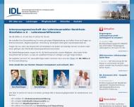Bild Webseite IDL NRW Düsseldorf