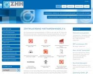 Bild Webseite AGM-Zert Düsseldorf