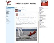 Bild Webseite Yacht-Club Noris Nürnberg