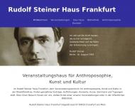Bild Webseite Anthroposophische Gesellschaft Rudolf Steiner Haus Frankfurt