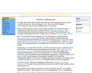 Bild Webseite Pfarrerinnen- und Pfarrerverein in der Evangelischen Kirche in Hessen Frankfurt