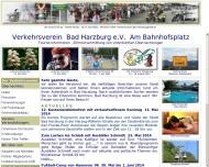 Bild Webseite  Bad Harzburg