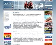 Bild Webseite Frankfurter Volleyball Verein Frankfurt