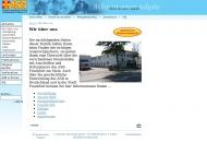 Bild Webseite Arbeiter-Samariter-Bund Landesverband Hessen Frankfurt
