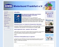 Bild Webseite Mieterbund Frankfurt Frankfurt
