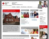 Website Deutsches Rotes Kreuz Ortsverein Mesum