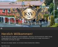 Bild Webseite Kraftsportverein (KSV) Eiserfeld e.V Siegen