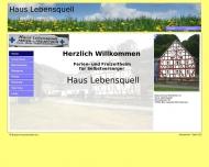 Bild Webseite Blaues Kreuz Eiserfeld Siegen