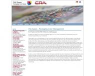 Bild Webseite European Rotogravure Association (E.R.A.) München