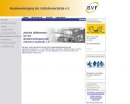 Bild Webseite Bundesvereinigung der Fahrlehrerverbände München