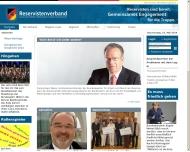 Bild Webseite Verband der Reservisten der Deutschen Bundeswehr Düsseldorf