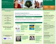 Website Krebsberatungsstelle der Bayerischen Krebsgesellschaft