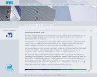 Bild Webseite Industrieverband für Bausysteme im Metallleichtbau Düsseldorf