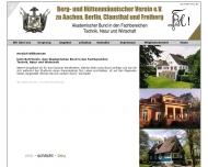 Bild Webseite Berg u. Hüttenmännischer Verein Aachen