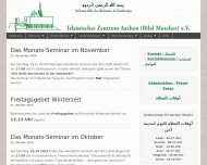 Bild Webseite  Aachen