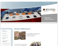 Bild Webseite Kolpinghaus Nürnberg Nürnberg
