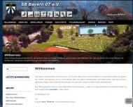 Bild Webseite Schwimmerbund Bayern 07 eV Nürnberg