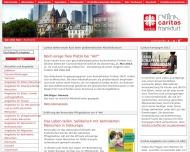 Bild Webseite cariteam Projektzentrum Frankfurt