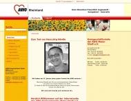 Website Arbeiterwohlfahrt Kreisverband Mainz Stadt